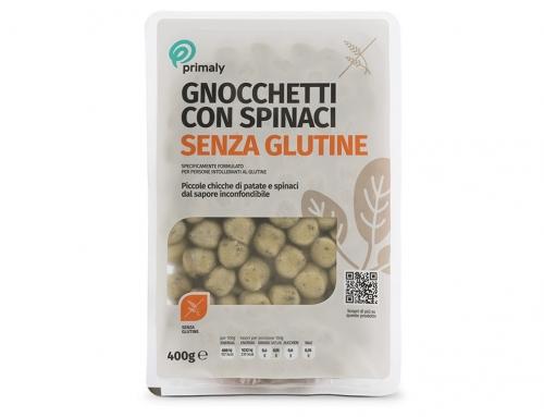 Gnocchetti con Spinaci Senza Glutine