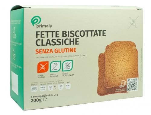 Fette Biscottate Classiche Senza Glutine