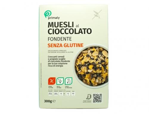 Muesli al Cioccolato Fondente Senza Glutine