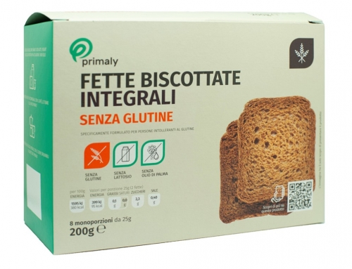 Fette Biscottate Integrali Senza Glutine