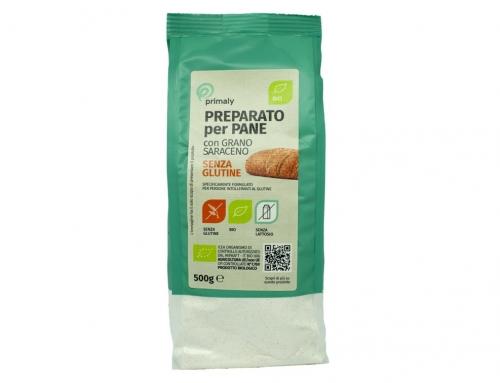 Preparato per Pane con Grano Saraceno Bio Senza Glutine