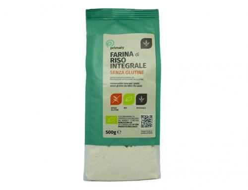 Farina di Riso Integrale Bio Senza Glutine