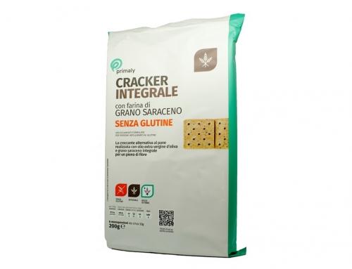 Cracker Integrali con Farina di Grano Saraceno Senza Glutine
